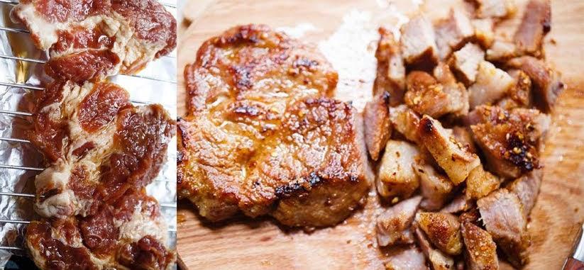 Cách ướp và nướng thịt mềm ngon chuẩn vị