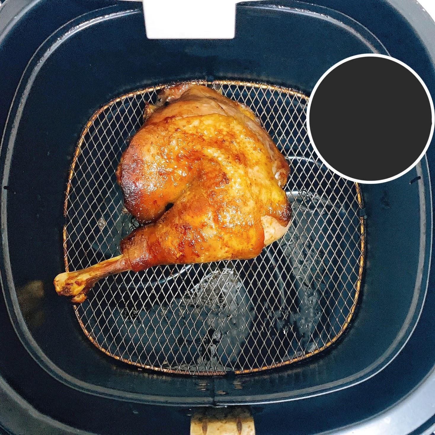 Đùi gà nướng sốt Teriyaki với nồi chiên không dầu