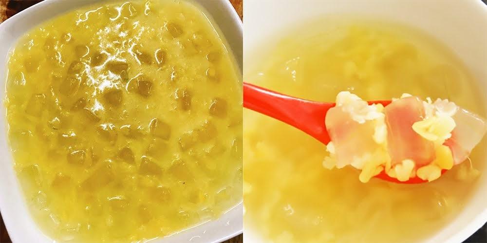 Cách nấu chè đậu xanh nha đam đường phèn không bị đắng, ăn vừa mát vừa đẹp da