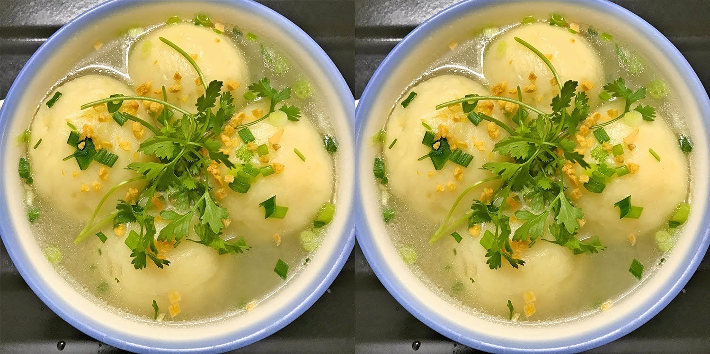 Công thức súp khoai tây bọc thịt bò ngon thơm ngào ngạt