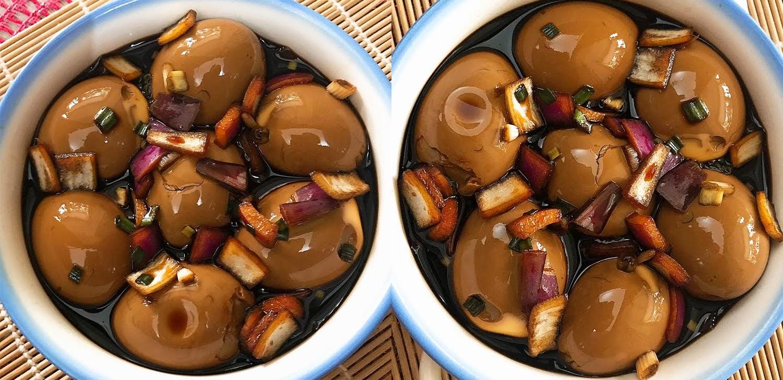 Công thức trứng gà ngâm xì dầu thơm ngon, vừa lạ miệng vừa bổ dưỡng