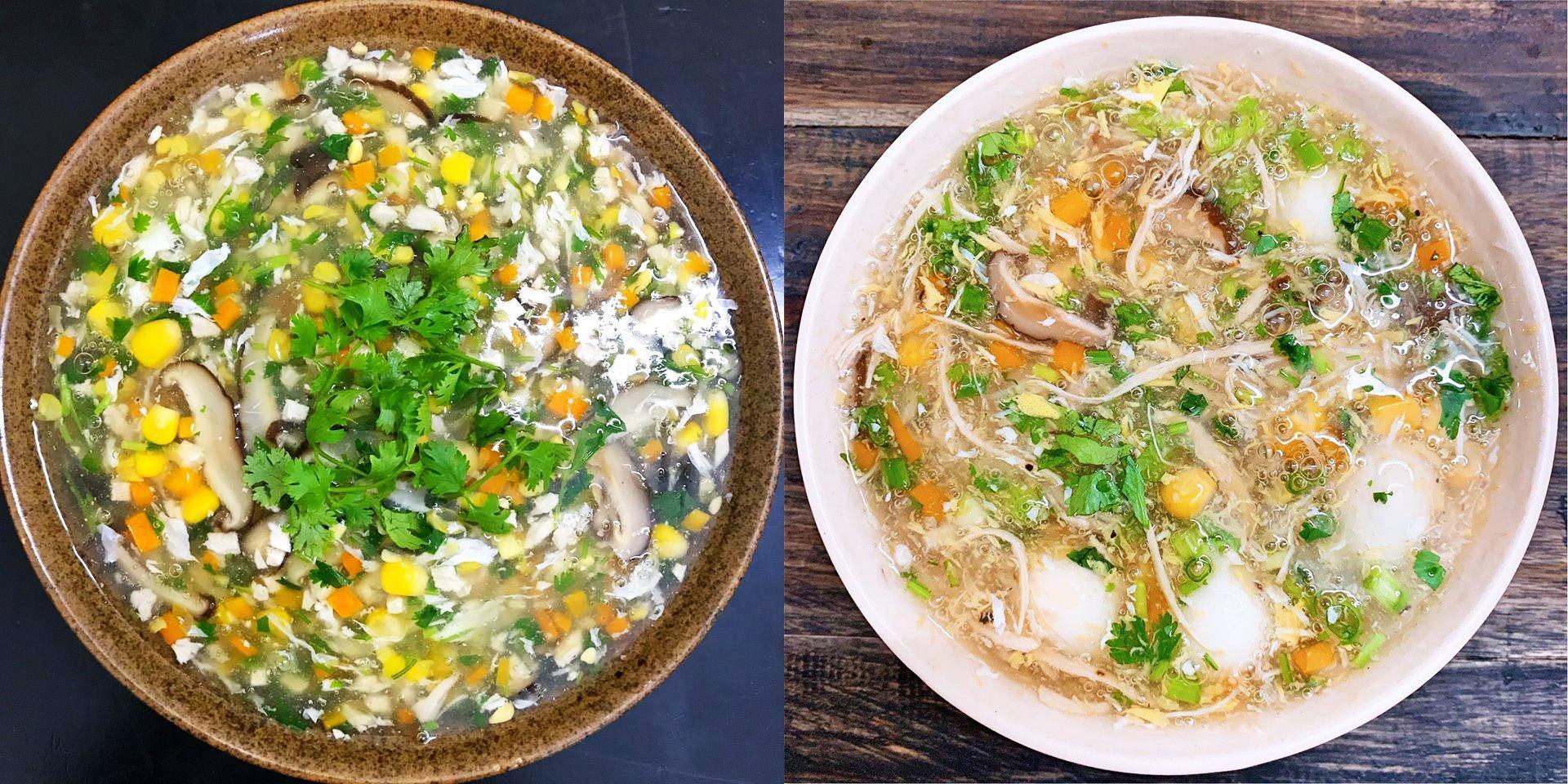 10 công thức món súp dễ làm, vừa thơm ngon vừa bổ dưỡng