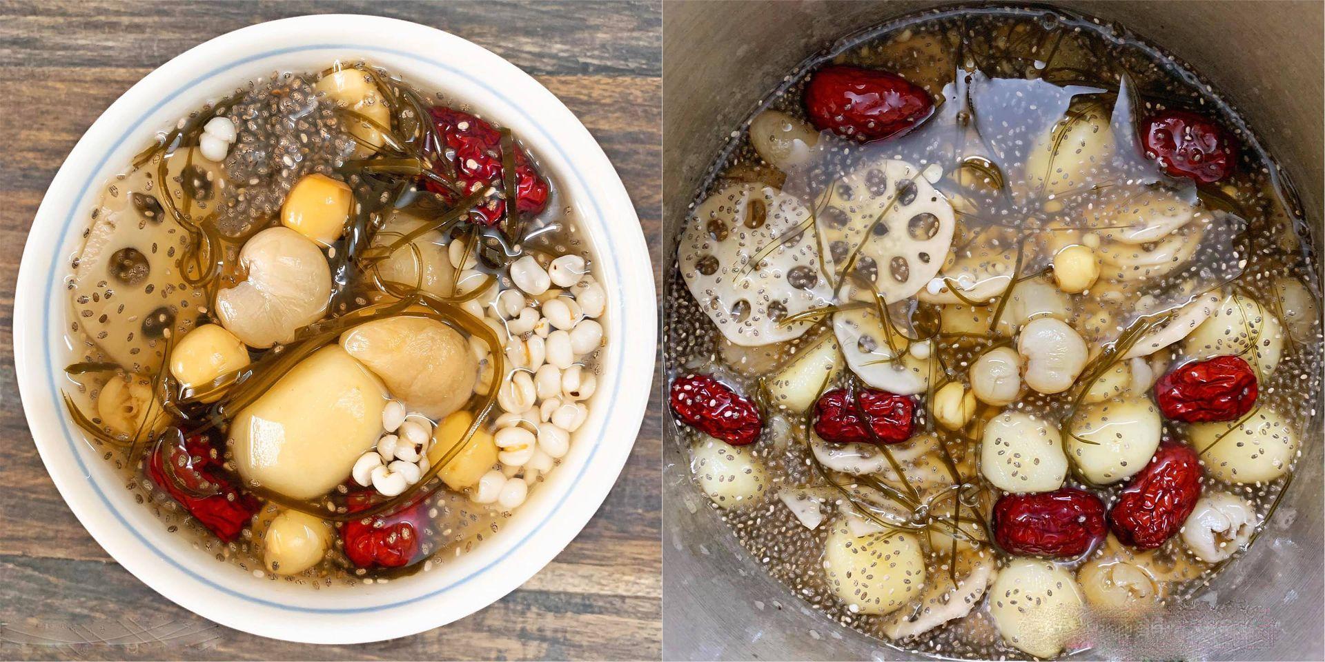 Cách nấu chè sâm bổ lượng thơm mát, vừa bổ dưỡng vừa đơn giản