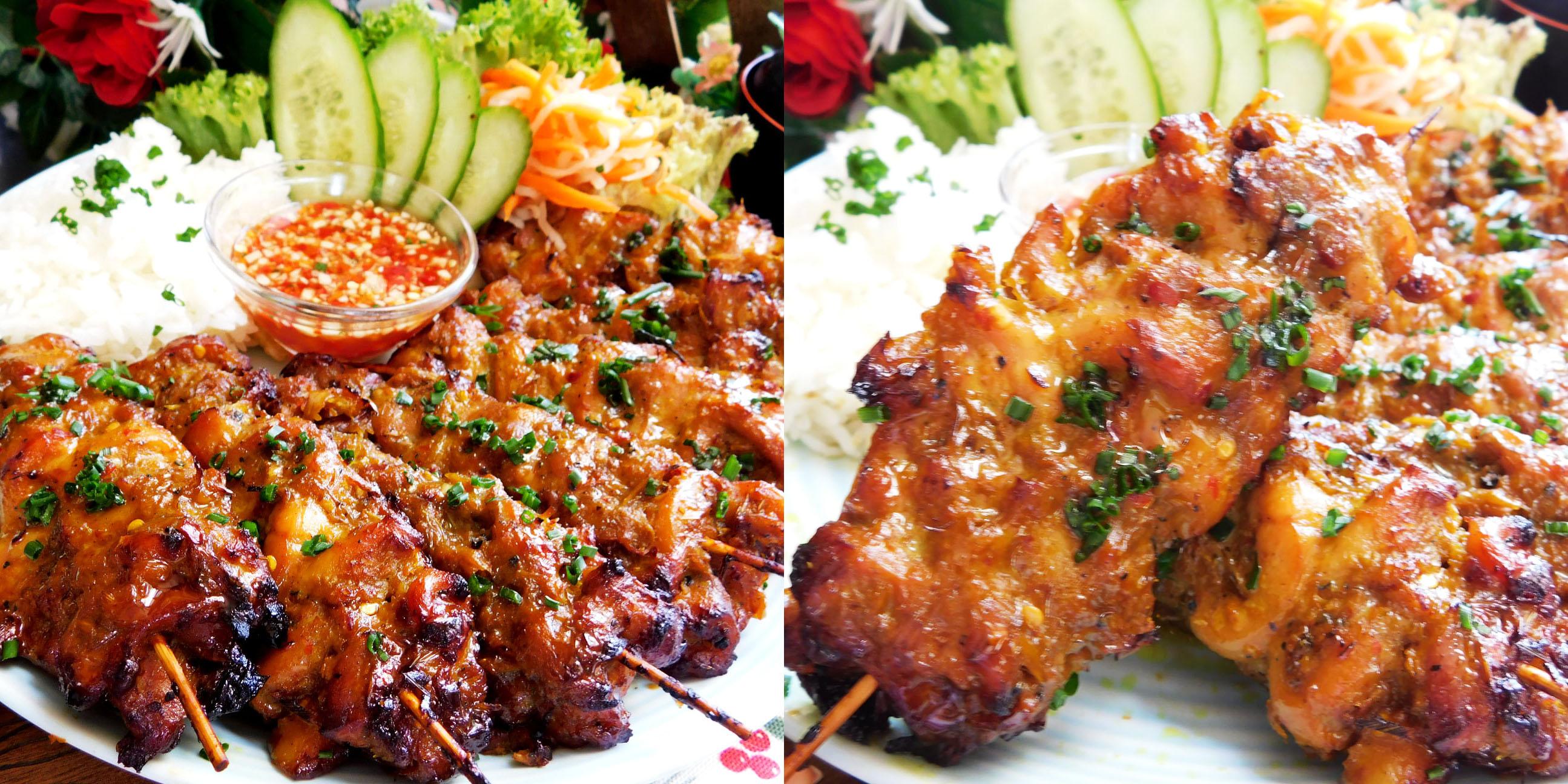 Cách làm gà xiên nướng kiểu Thái rất ngon và thơm