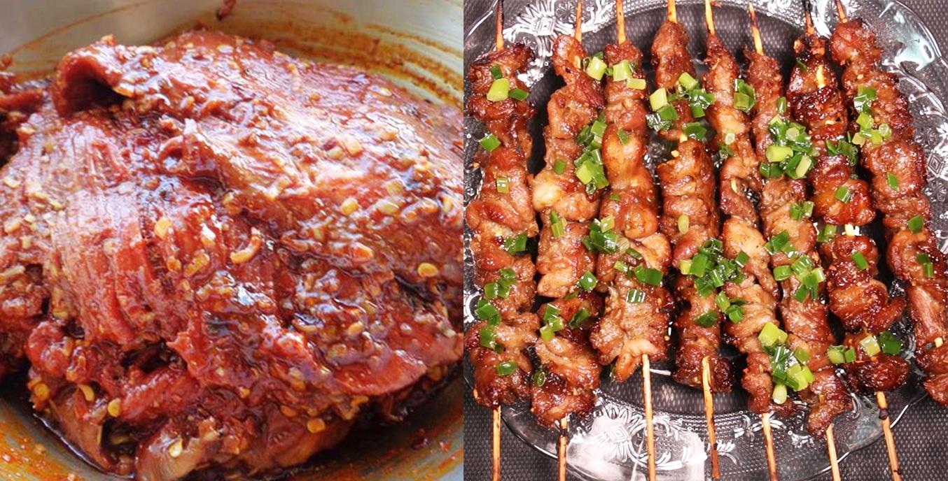 Bí quyết để có món thịt nướng ngon như ngoài hàng, mềm ngọt và không khô