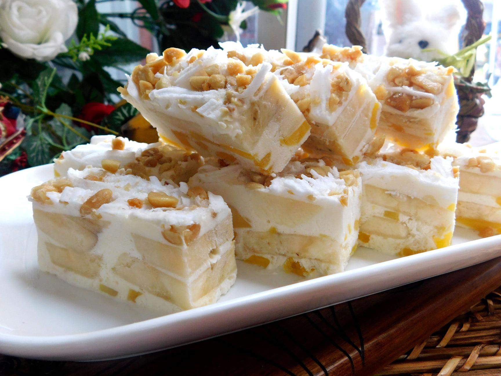 Công thức kem chuối mít nước cốt dừa thơm lừng béo ngậy