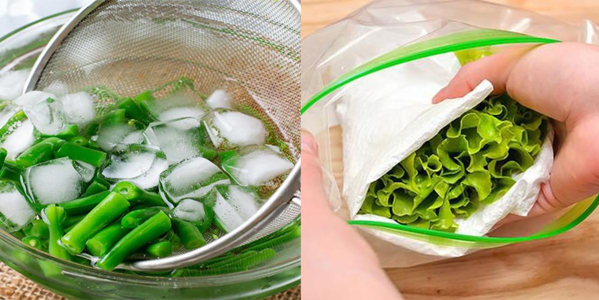 Mẹo bảo quản rau củ trong tủ đá nhiều tháng ăn vẫn tươi ngon, đầy đủ chất dinh dưỡng