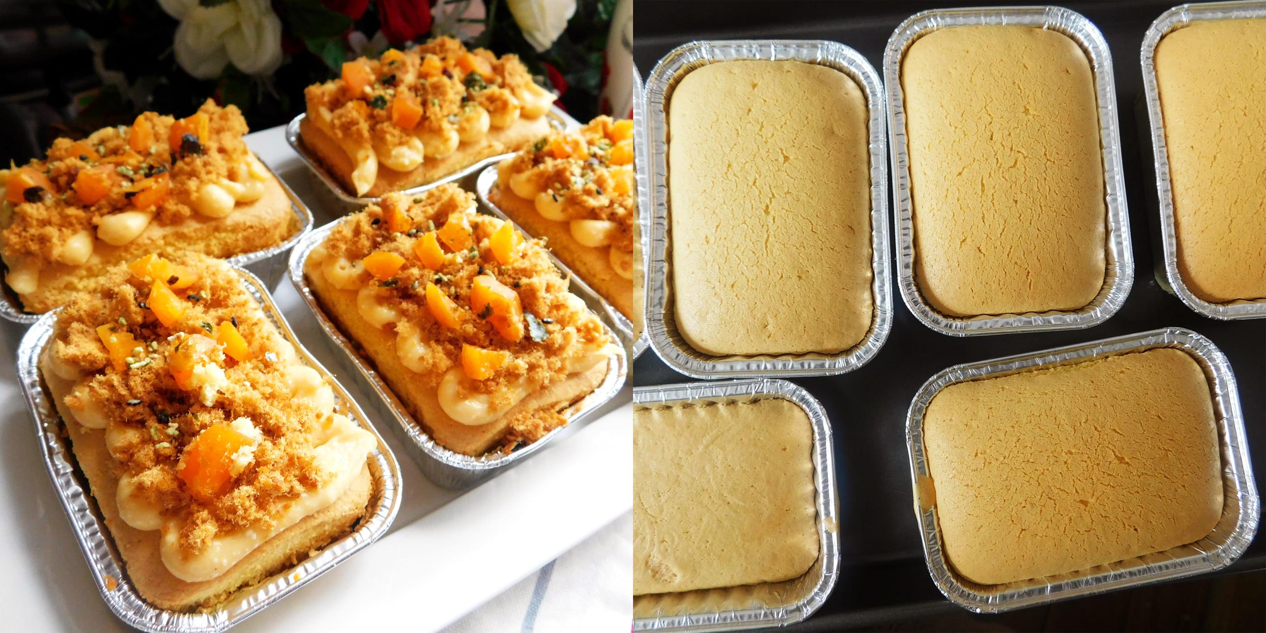 Cách làm bánh bông lan mini ẩm mềm ngon khó cưỡng