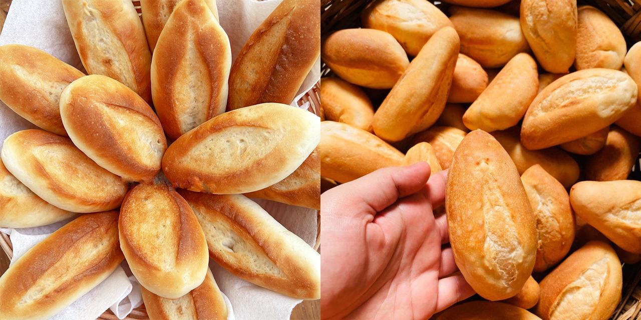 Cách làm bánh mì mini nhanh chóng, đơn giản nhất