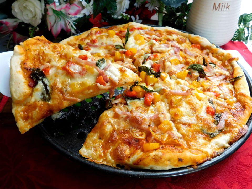 Công thức làm đế bánh pizza giòn xốp đơn giản