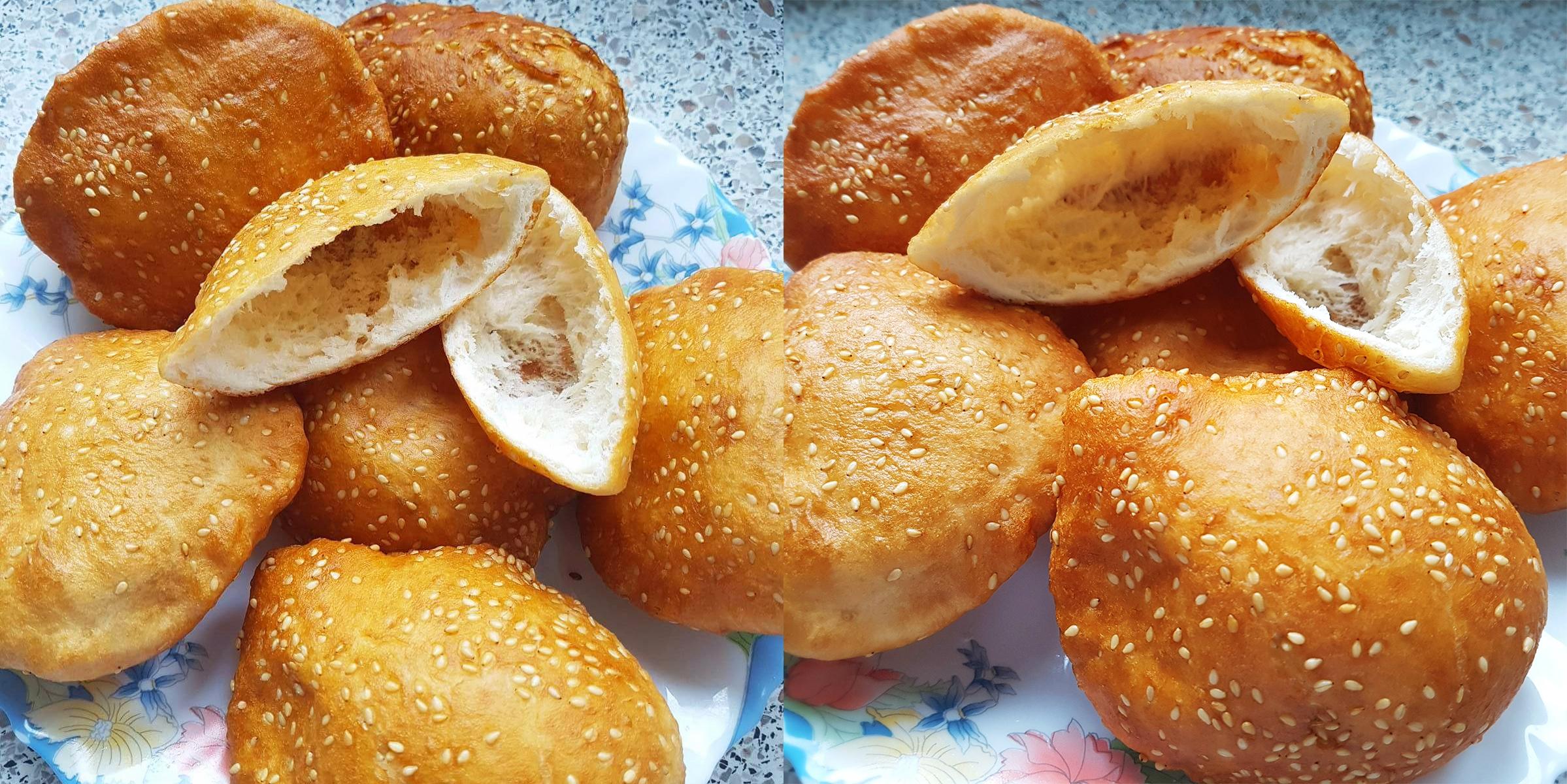 Công thức làm bánh tiêu đơn giản vô cùng không cần bột nở, men nở