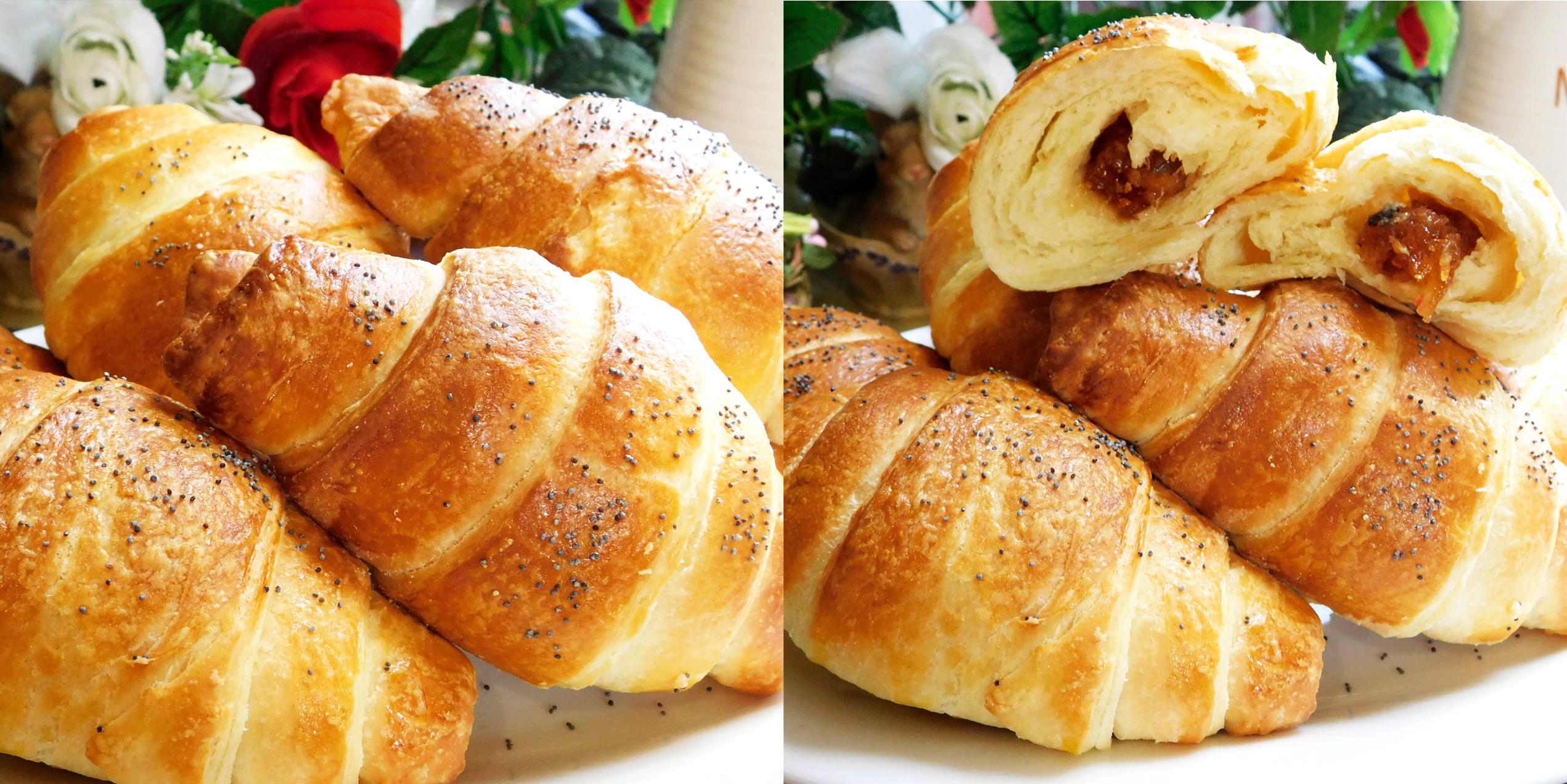 Công thức làm bánh sừng trâu thơm béo mềm ngon đúng chuẩn
