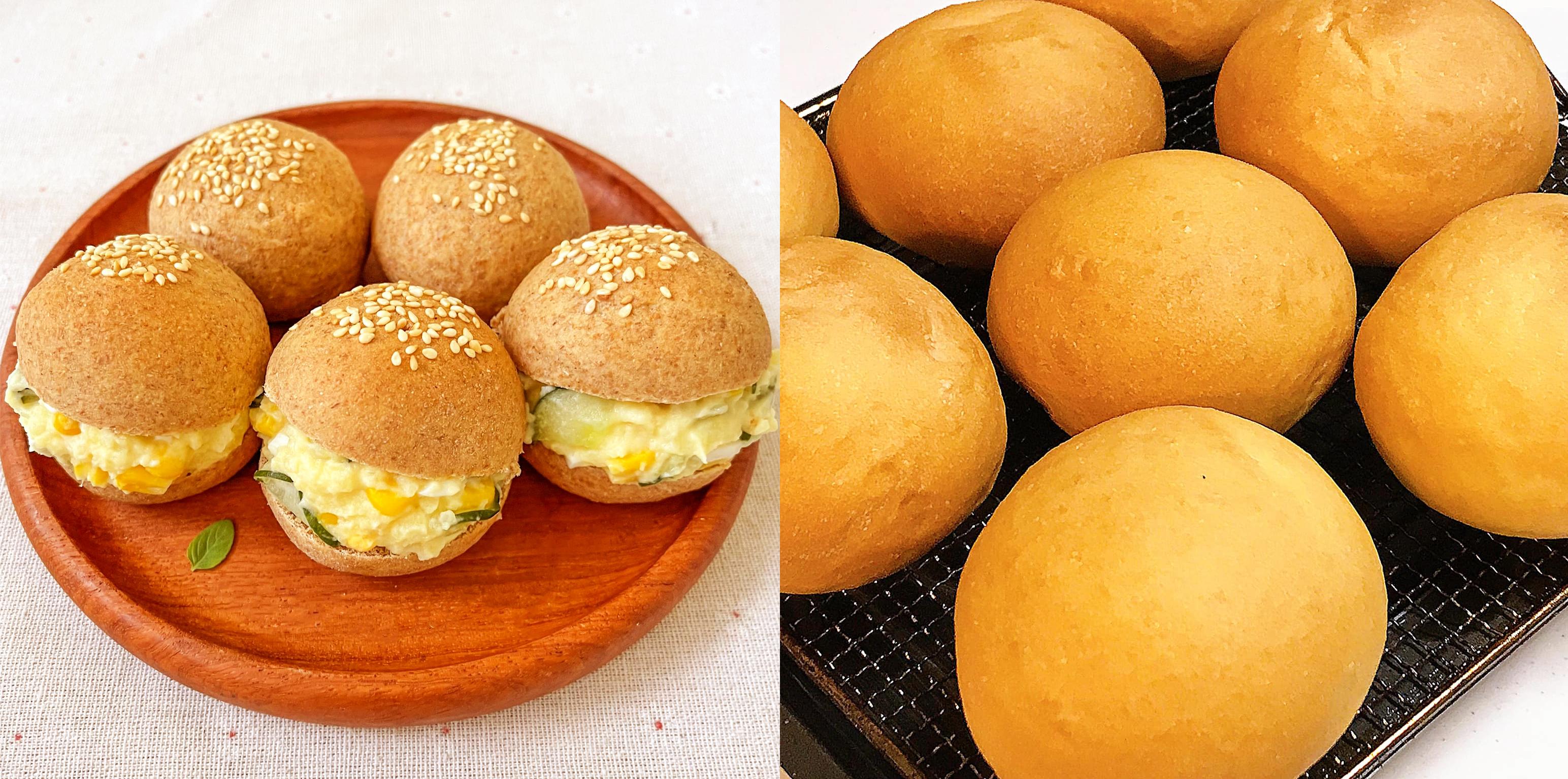 Cách làm bánh mì hamburger bò phô mai siêu ngon đổi vị cho bữa sáng