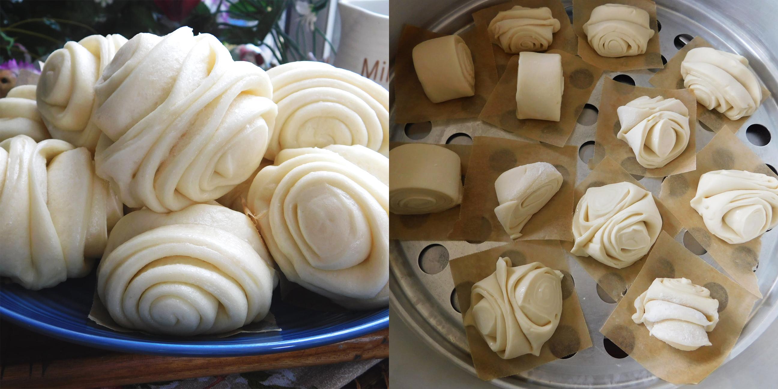 Công thức làm bánh bao chay trắng mịn và xốp mềm thơm
